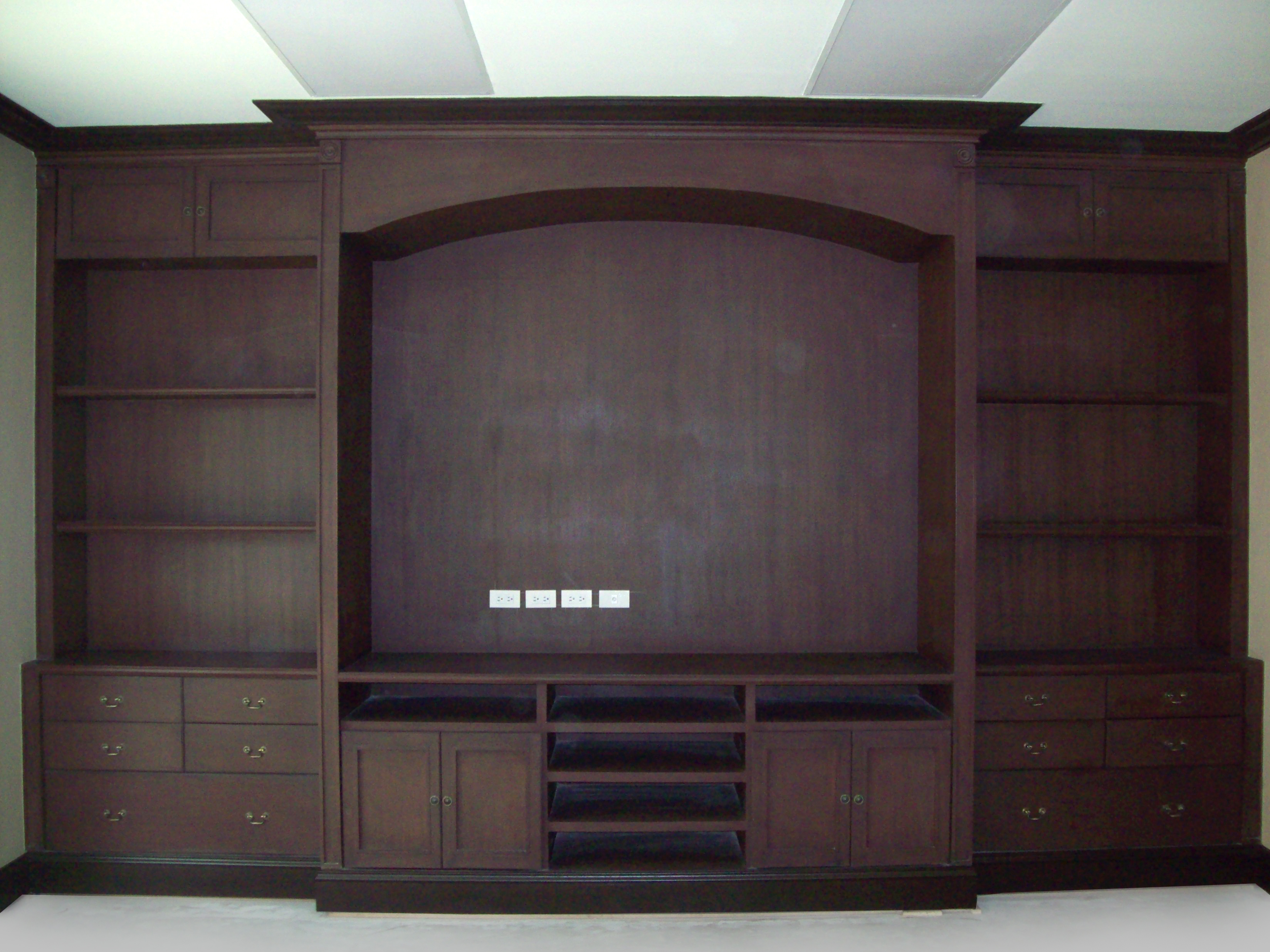 Built in storage cabinets easywood products for Built in kitchen cabinets philippines
